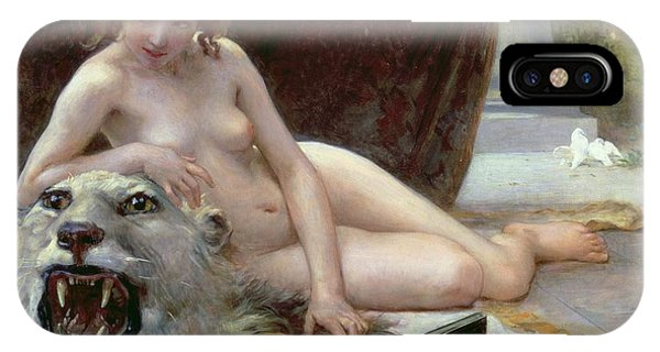 Nudes iPhone X Case - The Jewel Case by Guillaume Seignac