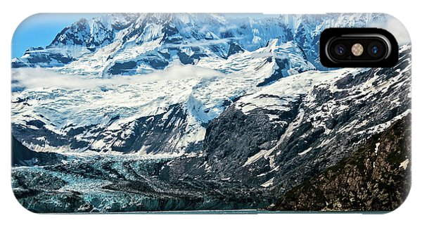The John Hopkins Glacier IPhone Case