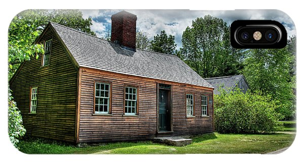 The John Wells House In Wells Maine IPhone Case