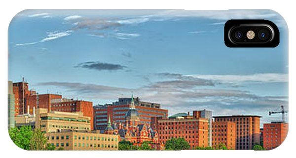 IPhone Case featuring the photograph The Johns Hopkins Hospital Complex by Mark Dodd