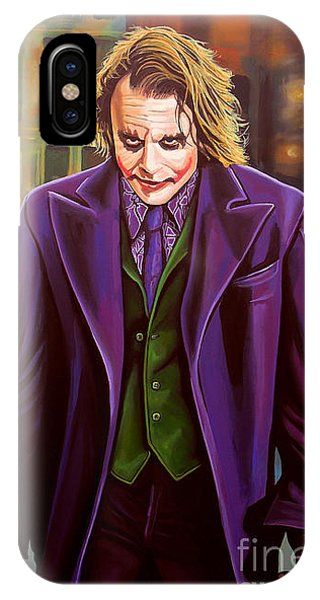 Knight iPhone Case - The Joker In Batman  by Paul Meijering