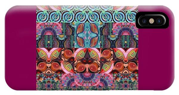 The Joy Of Design Mandala Series Puzzle 7 Arrangement 3 IPhone Case