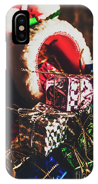 Present iPhone Case - The Joy Of Giving On Christmas by Jorgo Photography - Wall Art Gallery