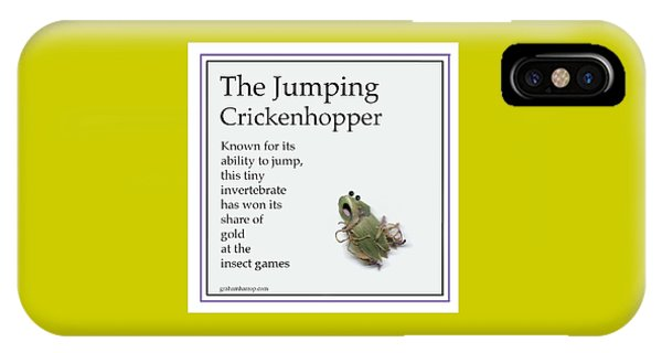 The Jumping Crickenhopper IPhone Case