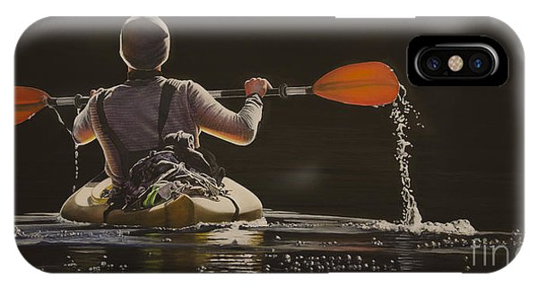 The Kayaker IPhone Case