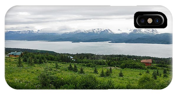 The Kenai Mountains In Homer IPhone Case