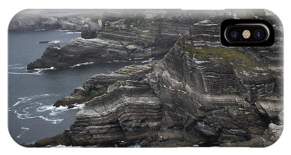 The Kerry Cliffs, Ireland IPhone Case