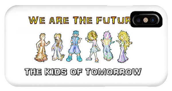IPhone Case featuring the digital art The Kids Of Tomorrow by Shawn Dall