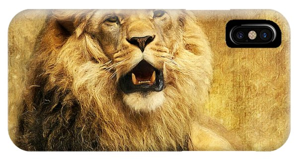 Imposing iPhone Case - The King by Angela Doelling AD DESIGN Photo and PhotoArt
