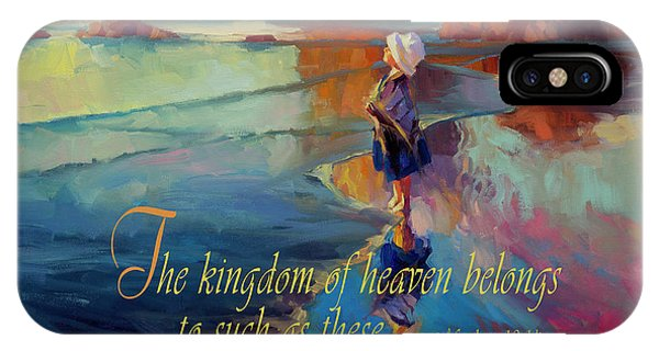 Modern iPhone Case - The Kingdom Belongs To These by Steve Henderson