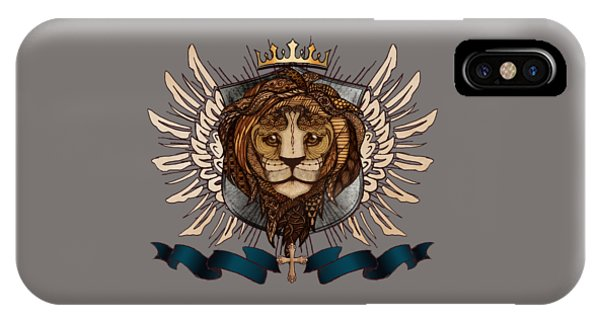 The King's Heraldry II IPhone Case