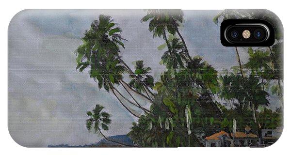 The Konkan Coastline IPhone Case