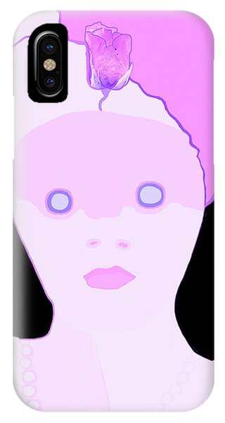 The Lady Of Peacock Hill IPhone Case