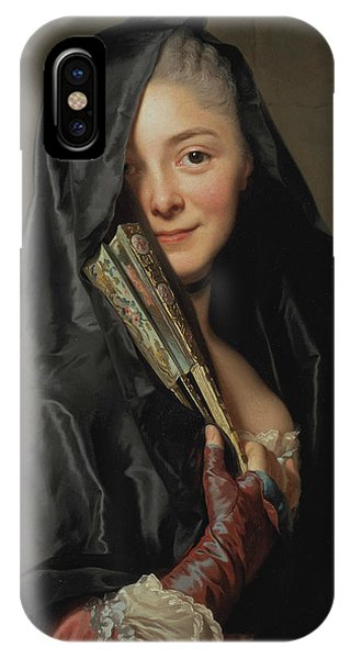 Swedish Painters iPhone Case - The Lady With The Veil  by Alexander Roslin