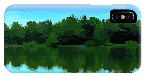 The Lake - Impressionism IPhone Case