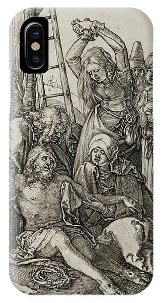 Albrecht Durer iPhone Case - The Lamentation by Albrecht Durer