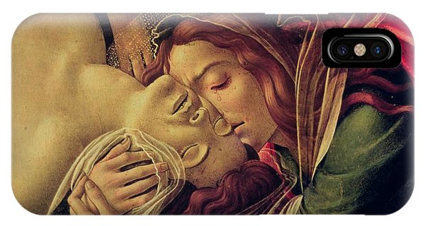Botticelli iPhone Case - The Lamentation Of Christ by Sandro Botticelli