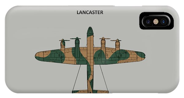 Bomber iPhone Case - The Lancaster by Mark Rogan