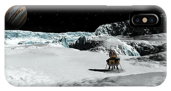 The Lander Ulysses On Europa IPhone Case