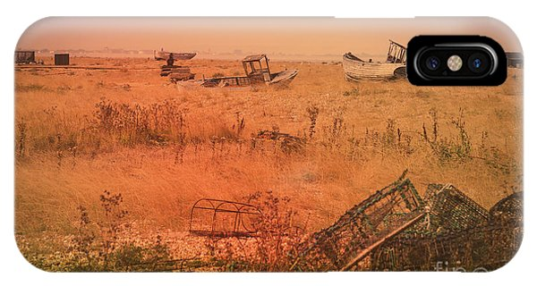 The Landscape Of Dungeness Beach, England 2 IPhone Case