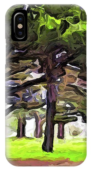 The Landscape With The Leaning Trees IPhone Case