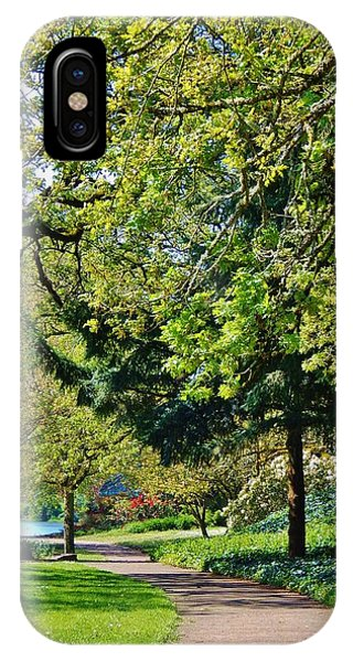 The Lane At Waverly Pond IPhone Case