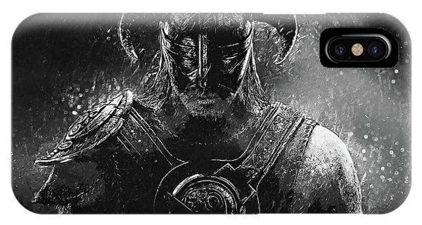 The Last Dragonborn - Skyrim IPhone Case