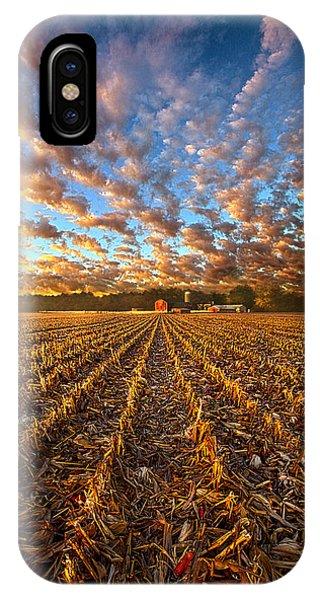 The Last Harvest IPhone Case