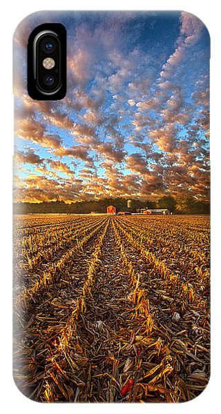 The Last Harvest IPhone Case