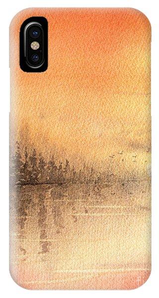 The Last Of Autumn IPhone Case