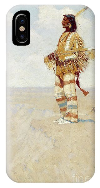 The Last Of His Race  The Vanishing American, 1908 IPhone Case