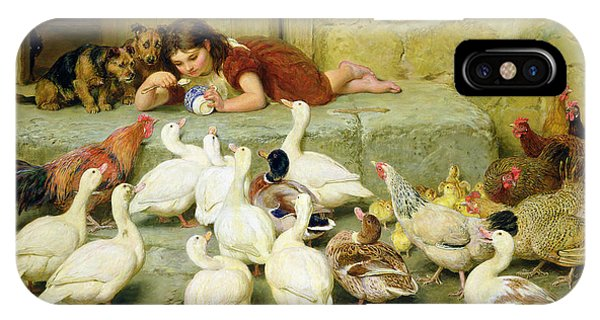 Duck iPhone Case - The Last Spoonful by Briton Riviere