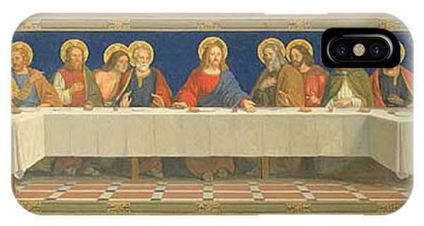 iPhone Case - The Last Supper Henry Siddons Mowbray by Eloisa Mannion