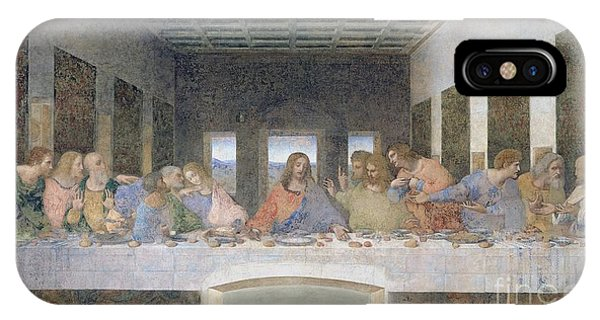 Life Of Christ iPhone Case - The Last Supper by Leonardo da Vinci