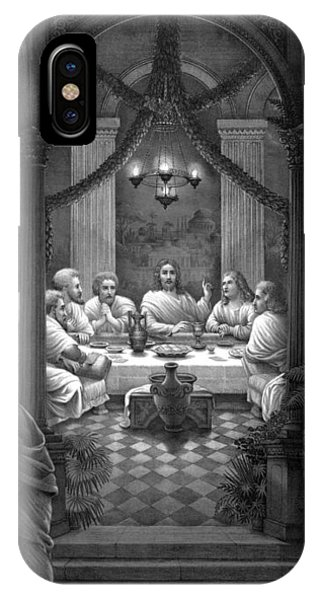 Savior iPhone Case - The Last Supper by War Is Hell Store