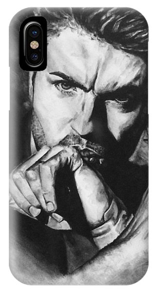 The Late Great George Michaels IPhone Case