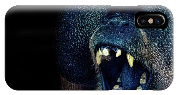 The Laughing Orangutan IPhone Case