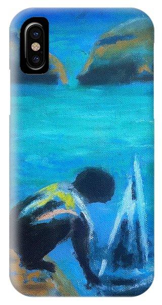 The Launch Sjosattningen IPhone Case
