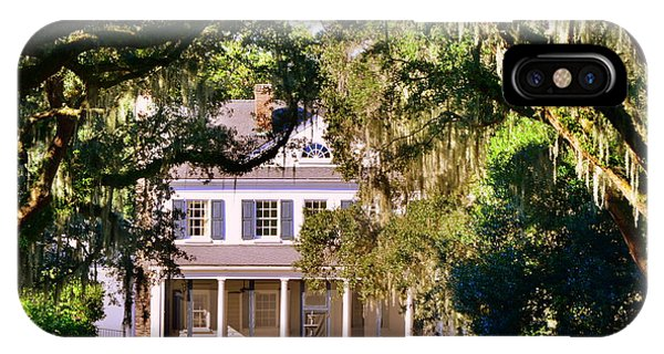 IPhone Case featuring the photograph The Legare-waring House At Charles Town Landing by Lisa Wooten