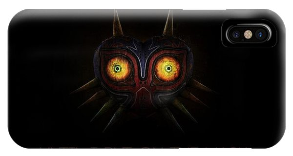 Design iPhone Case - The Legend Of Zelda Majora's Mask by Maye Loeser