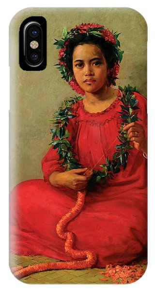 The Lei Maker IPhone Case