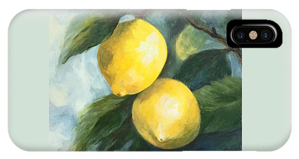The Lemon Tree IPhone Case