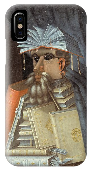 c1af83775 Sexy Male iPhone Case - The Librarian 1562 by Giuseppe Arcimboldo