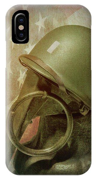 Old World iPhone Case - The Lieutenant by Tom Mc Nemar