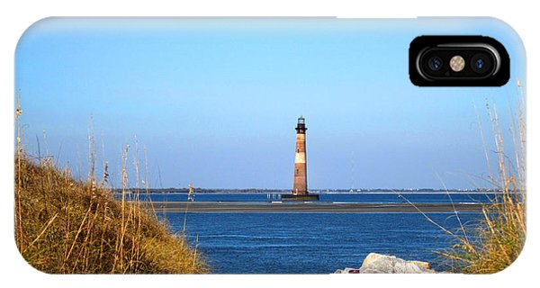 The Lighhouse At Morris Island Charleston IPhone Case