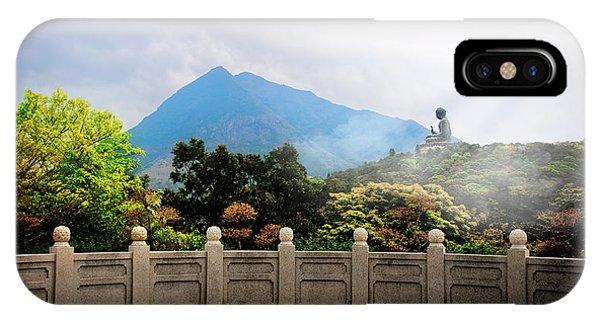 The Light Of Buddha IPhone Case