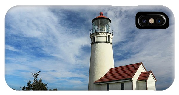 The Lighthouse At Cape Blanco IPhone Case