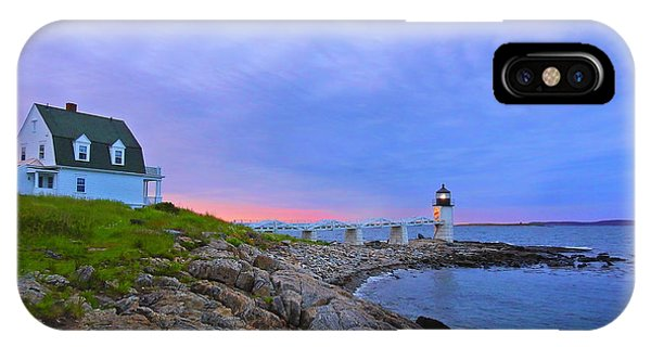 The Lighthouse Keeper IPhone Case