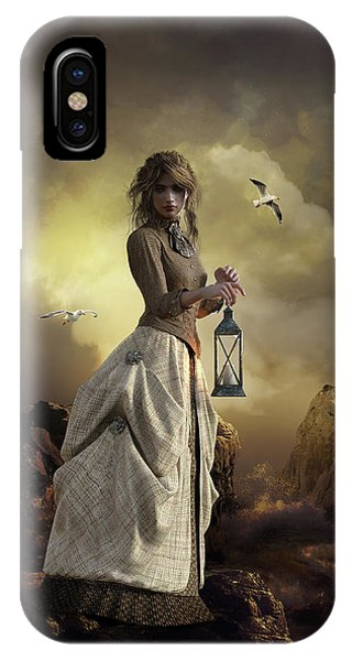 iPhone Case - The Lighthouse Keeper's Daughter by Shanina Conway