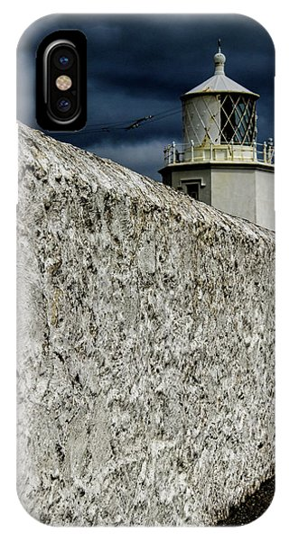 Navigation iPhone Case - The Lighthouse by Martin Newman